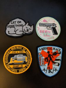 Patch Blog Embroidered Patches
